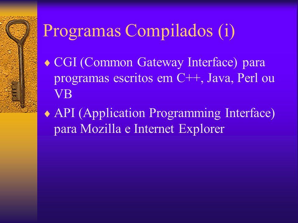 Programas Compilados (i)