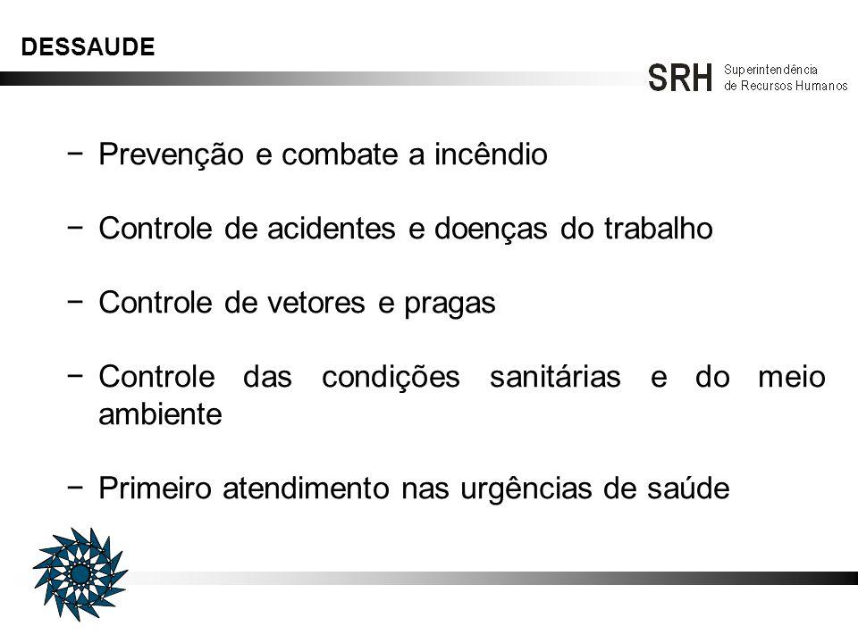 − Prevenção e combate a incêndio