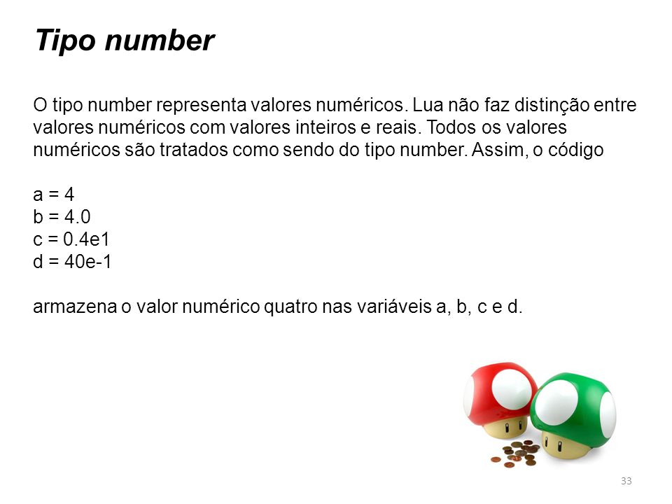 Tipo number