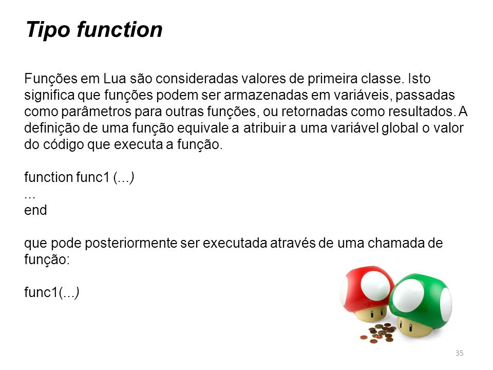 Tipo function