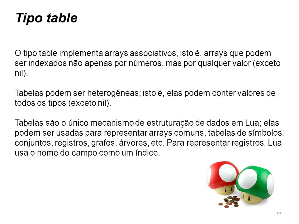 Tipo table