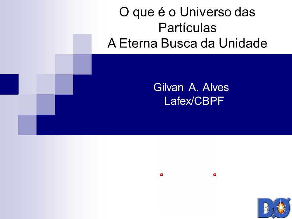 Gilvan A. Alves Lafex/CBPF