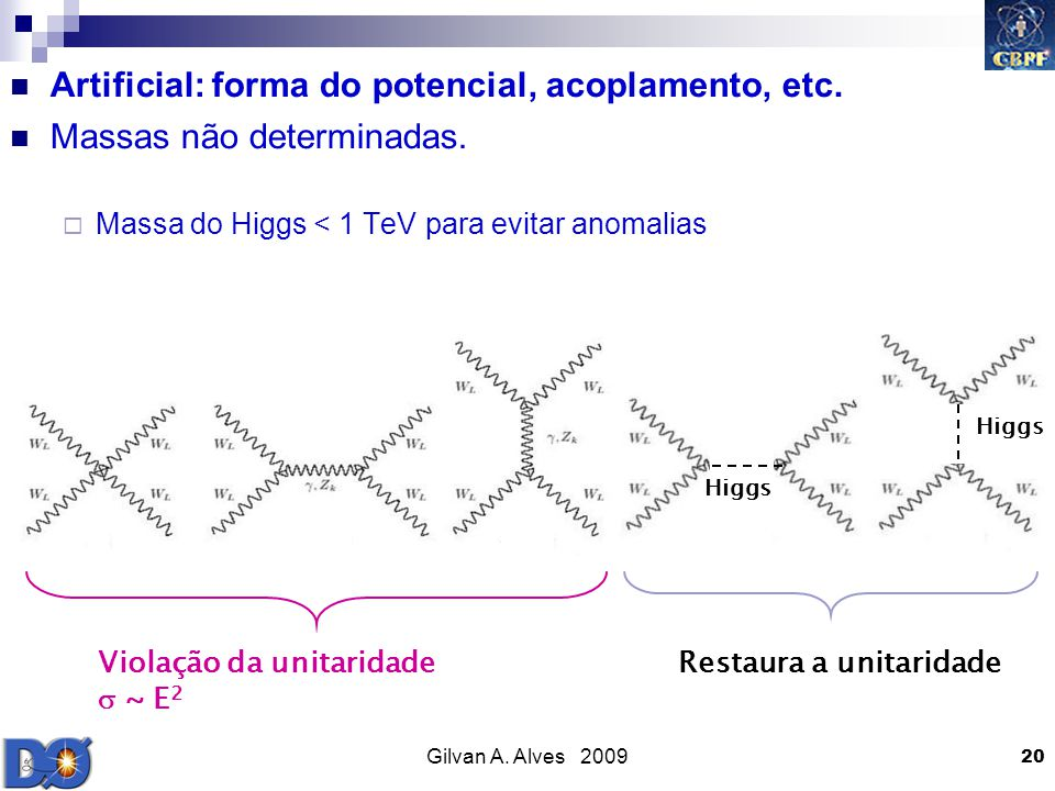 Artificial: forma do potencial, acoplamento, etc.