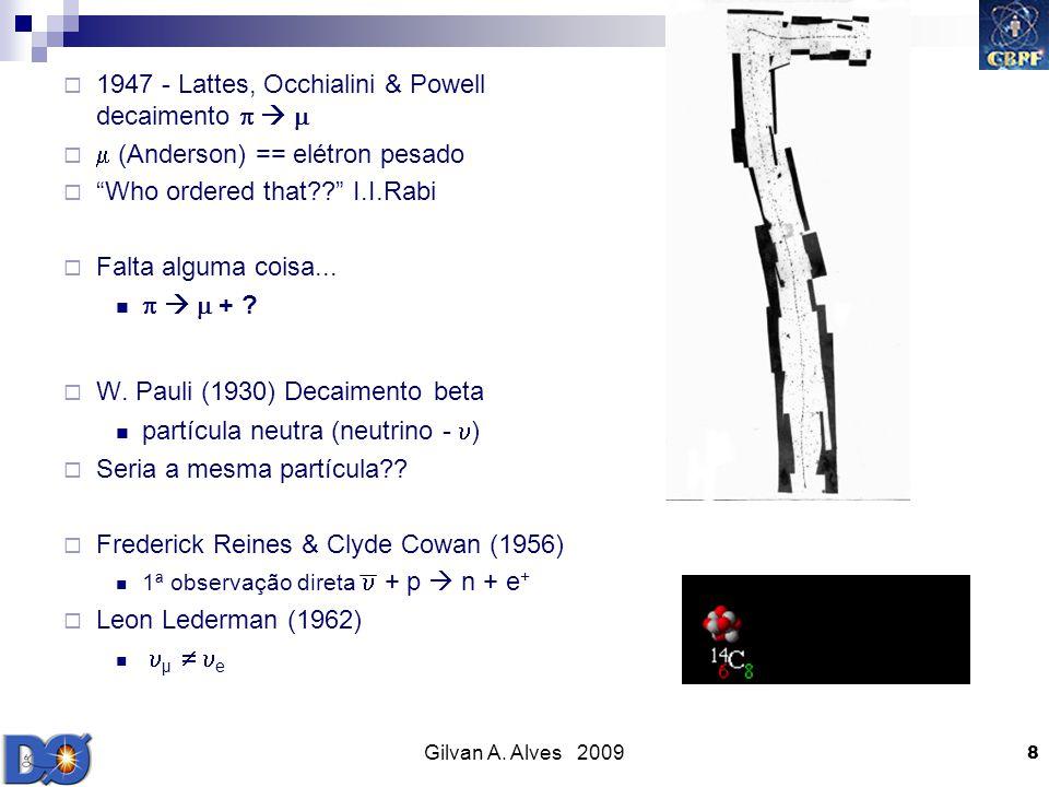 1947 - Lattes, Occhialini & Powell decaimento   