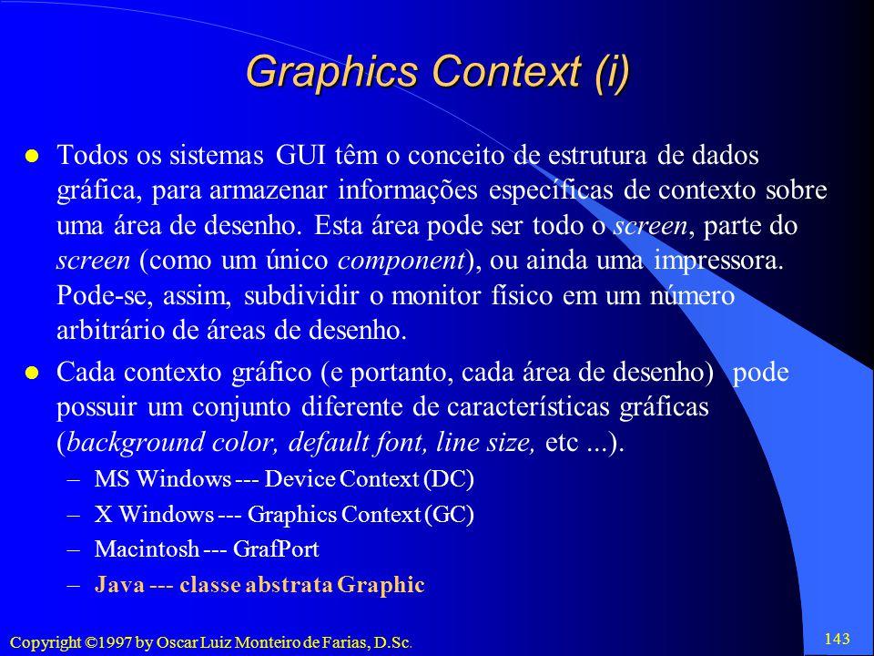 Graphics Context (i)
