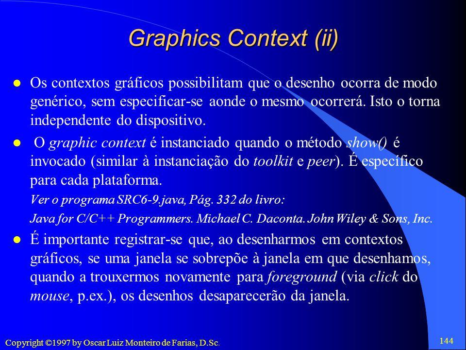 Graphics Context (ii)