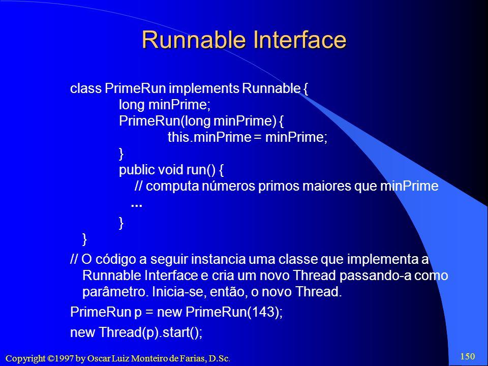 Runnable Interface