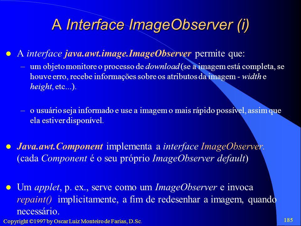 A Interface ImageObserver (i)