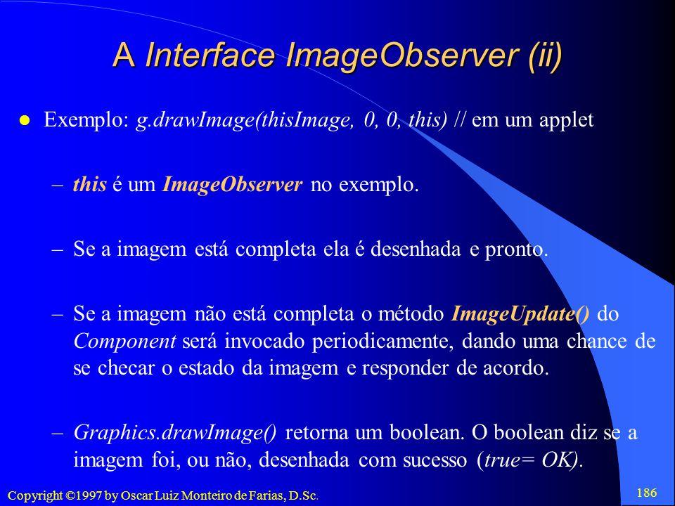 A Interface ImageObserver (ii)