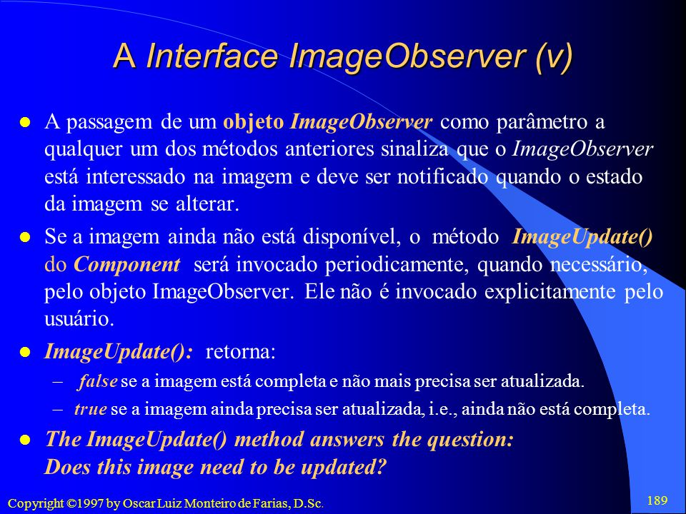 A Interface ImageObserver (v)