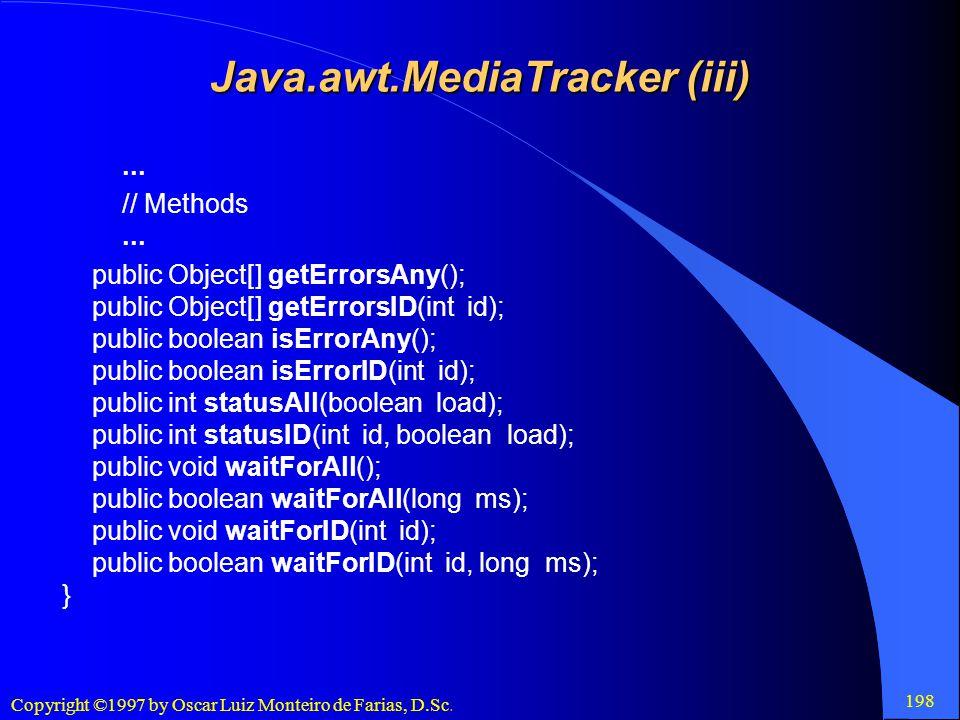 Java.awt.MediaTracker (iii)