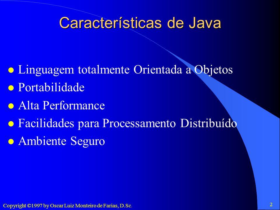 Características de Java
