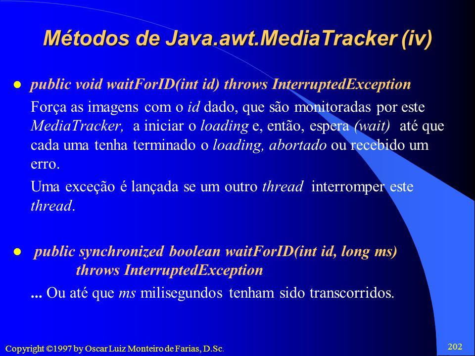Métodos de Java.awt.MediaTracker (iv)