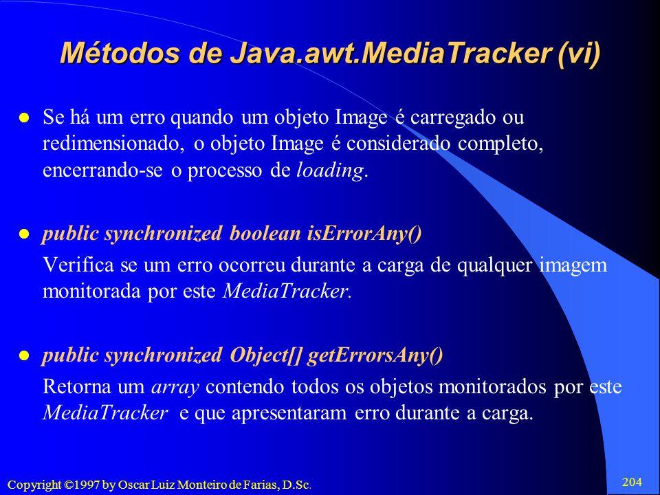 Métodos de Java.awt.MediaTracker (vi)