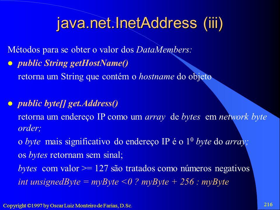 java.net.InetAddress (iii)