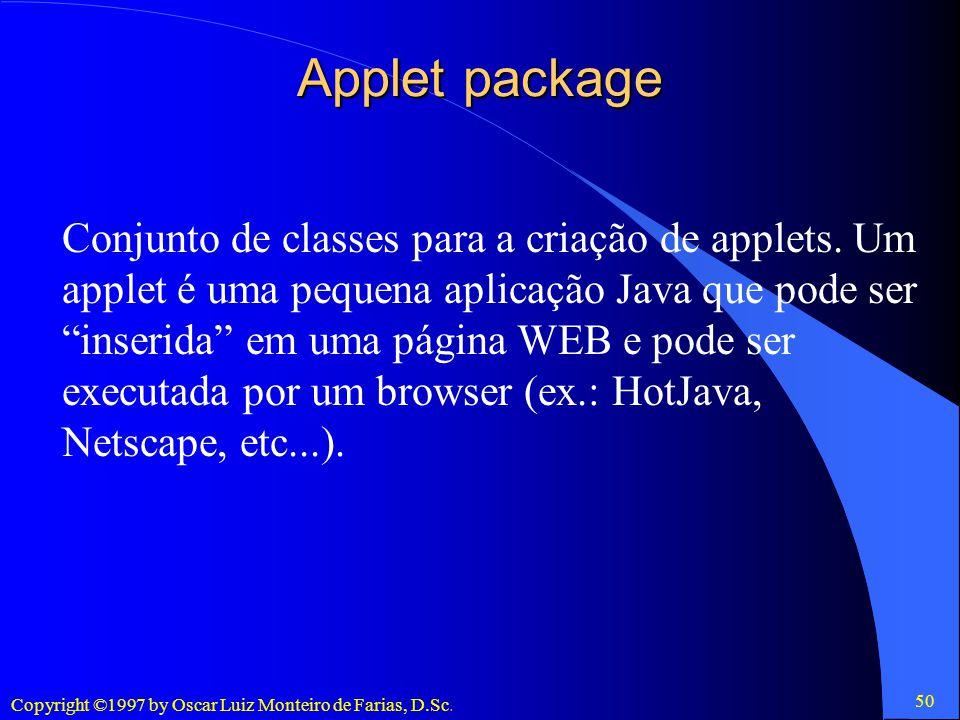 Applet package