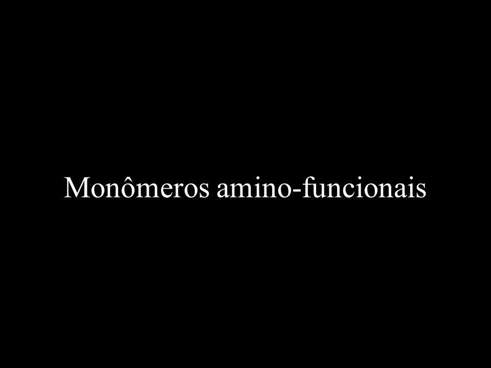 Monômeros amino-funcionais