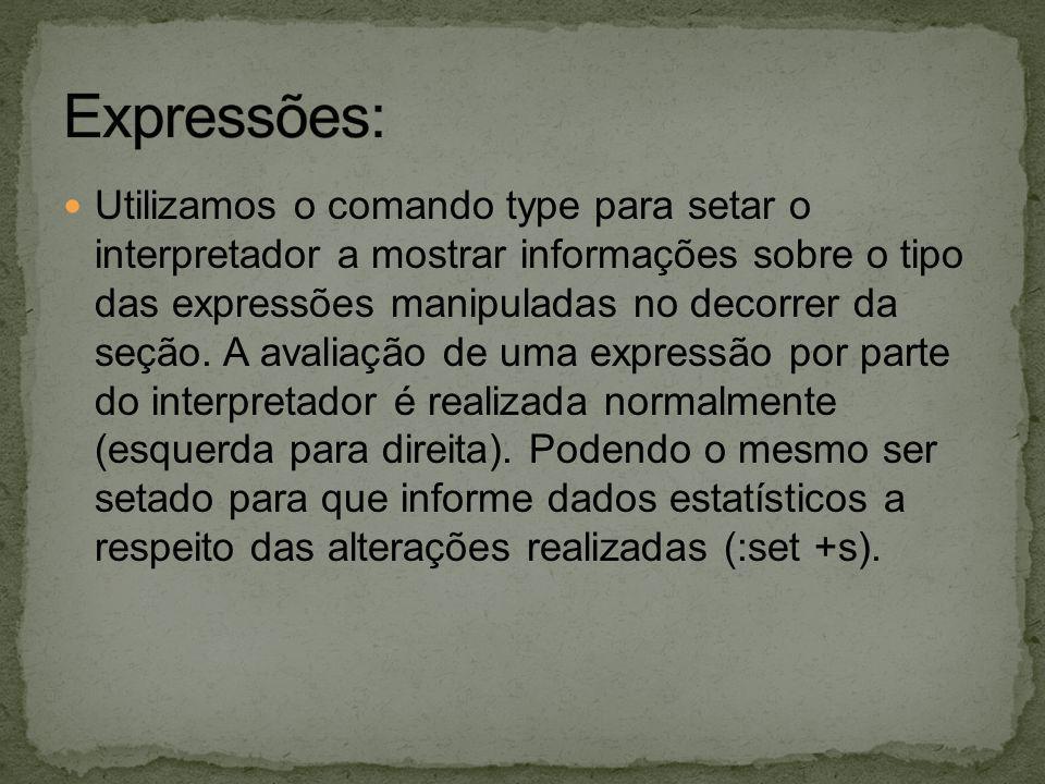 Expressões: