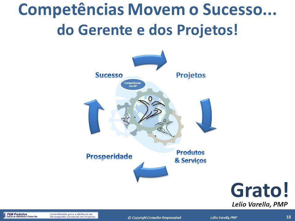 Competências Movem o Sucesso... do Gerente e dos Projetos!