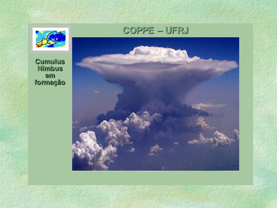 Cumulus Nimbus em formação
