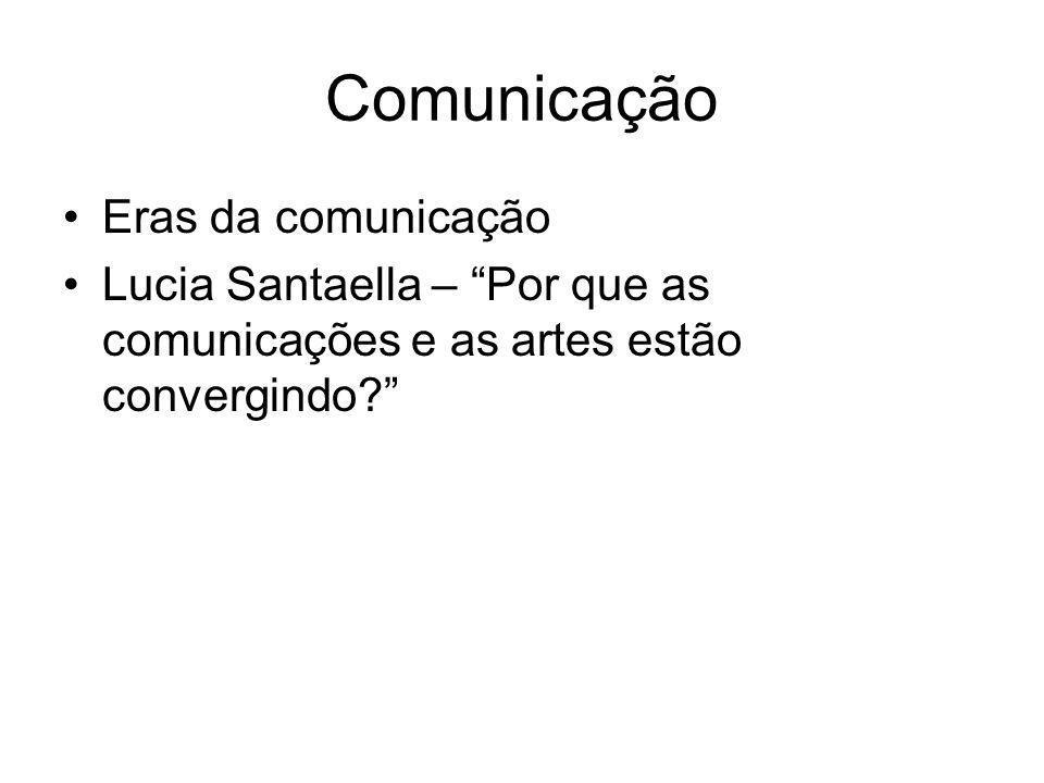 Comunicação Eras da comunicação