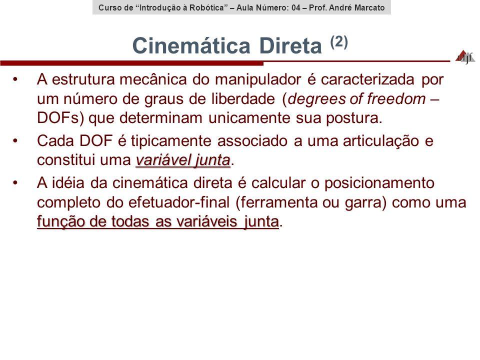 Cinemática Direta (2)