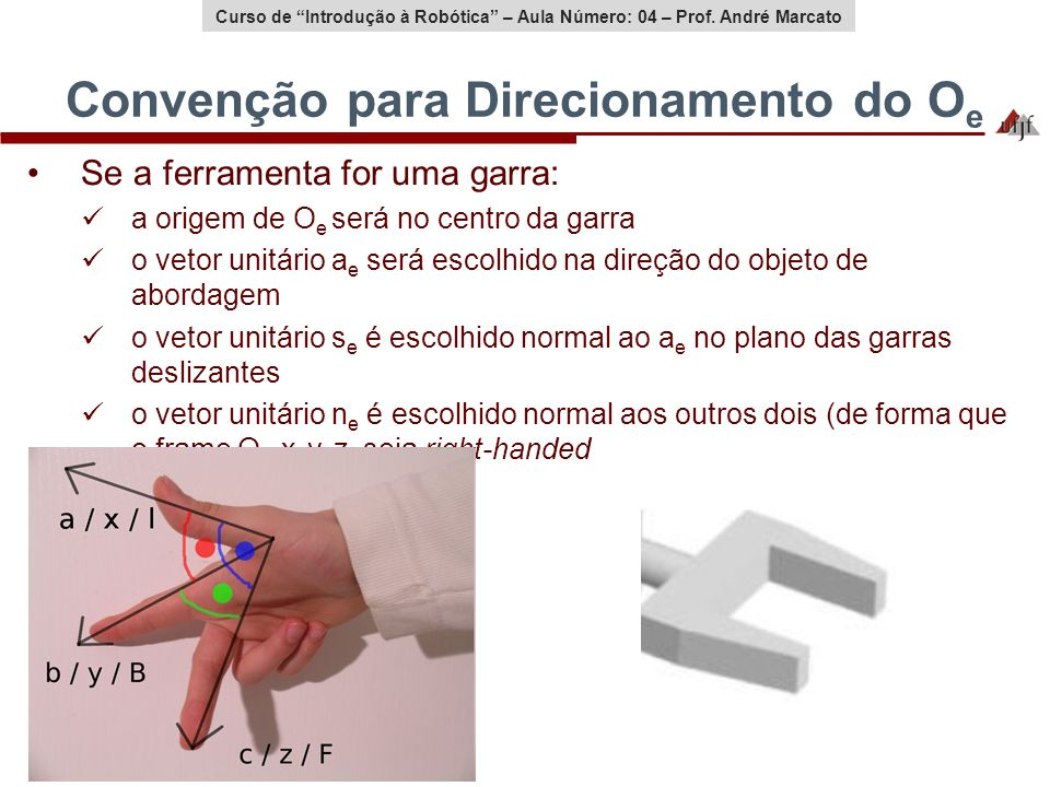 Convenção para Direcionamento do Oe