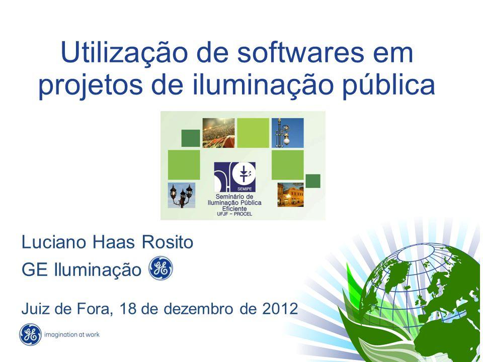 Utilização de softwares em projetos de iluminação pública