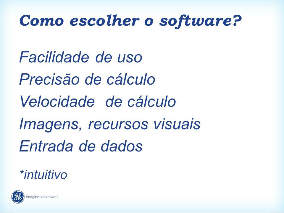 Como escolher o software