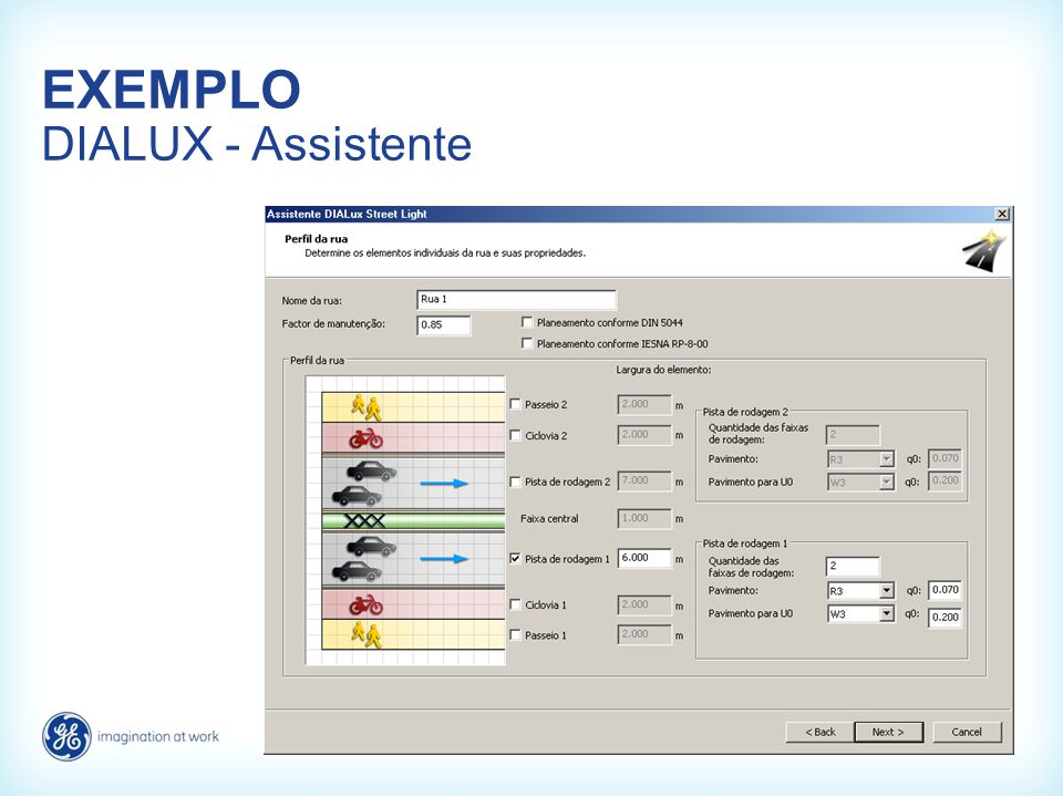 EXEMPLO DIALUX - Assistente