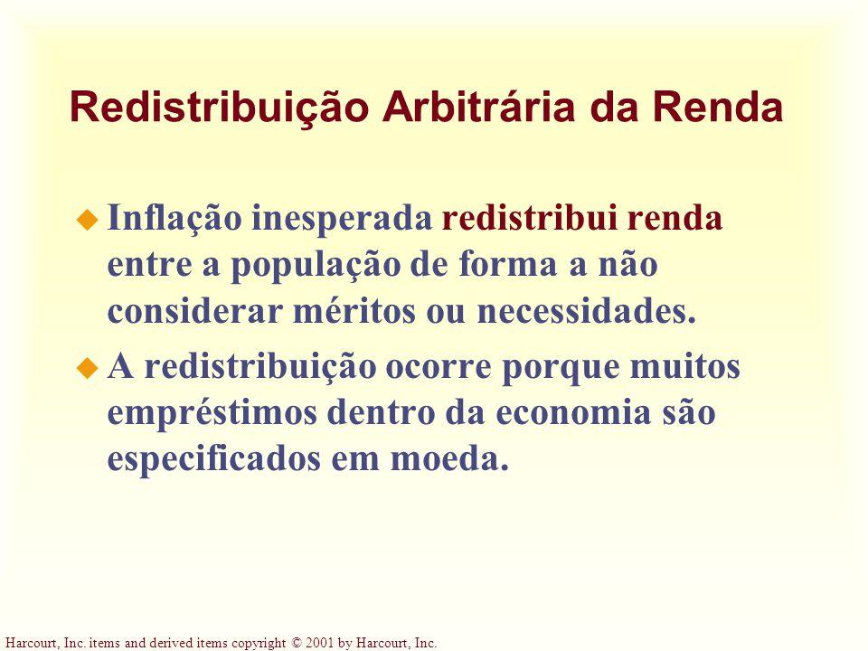 Redistribuição Arbitrária da Renda
