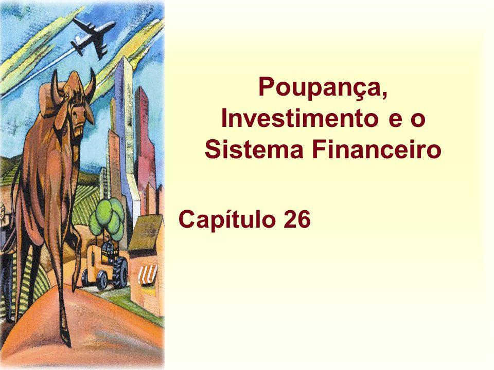 Poupança, Investimento e o Sistema Financeiro