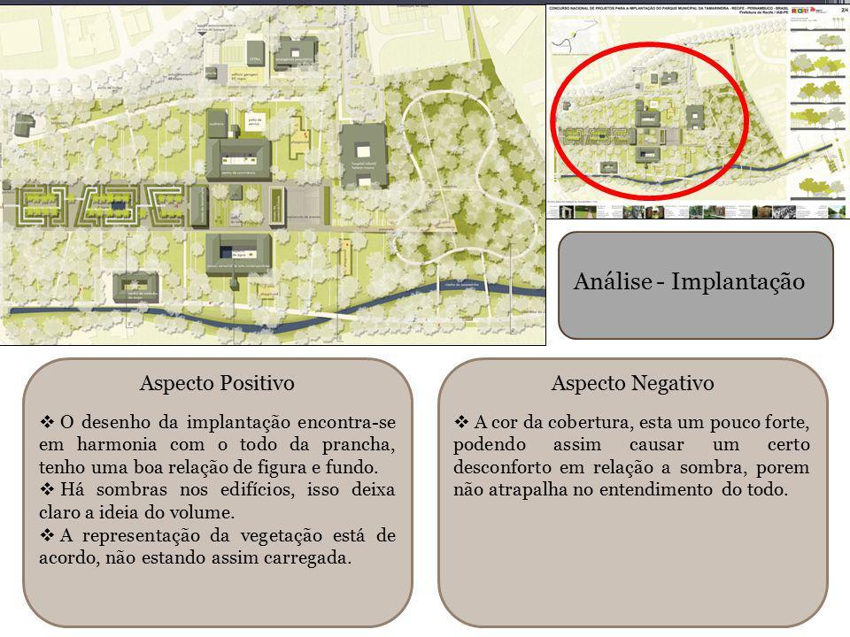 Análise - Implantação Aspecto Positivo Aspecto Negativo