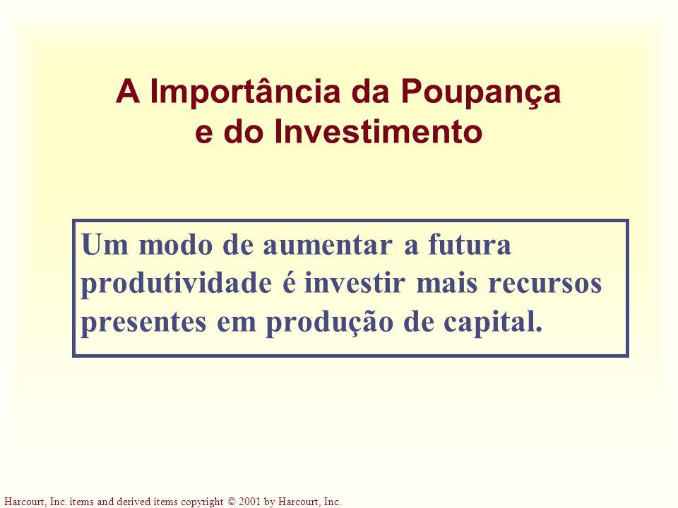 A Importância da Poupança e do Investimento