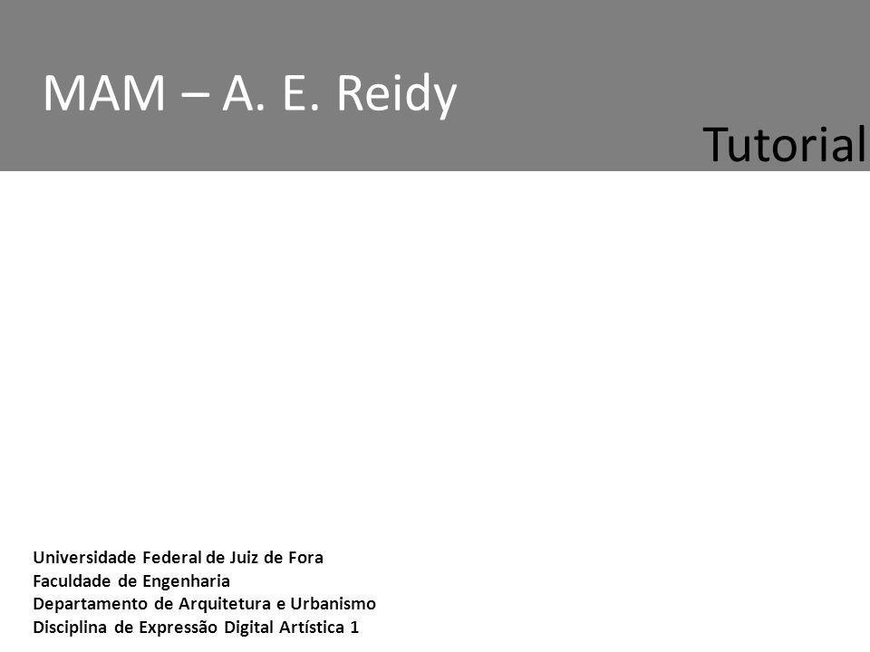 MAM – A. E. Reidy Tutorial.