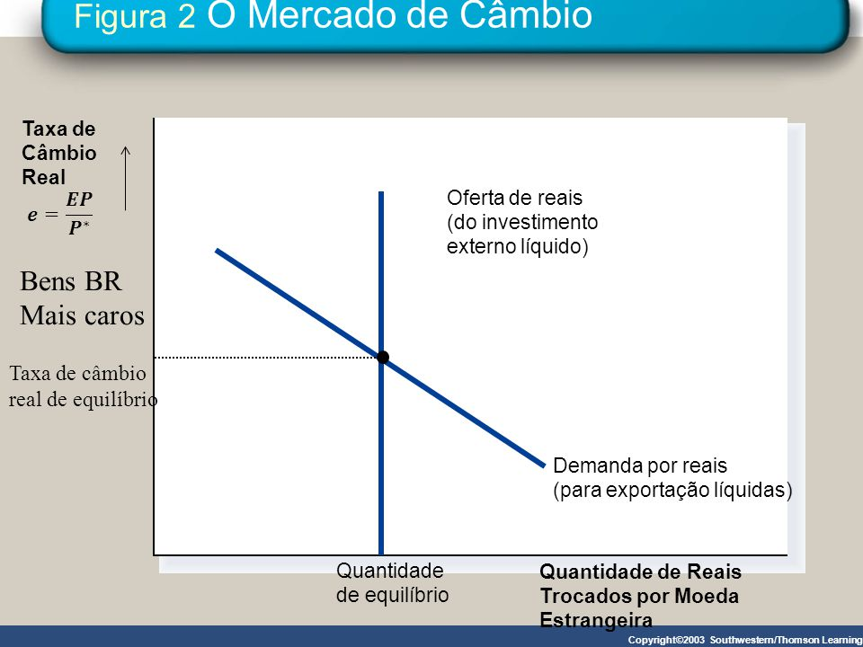 Figura 2 O Mercado de Câmbio