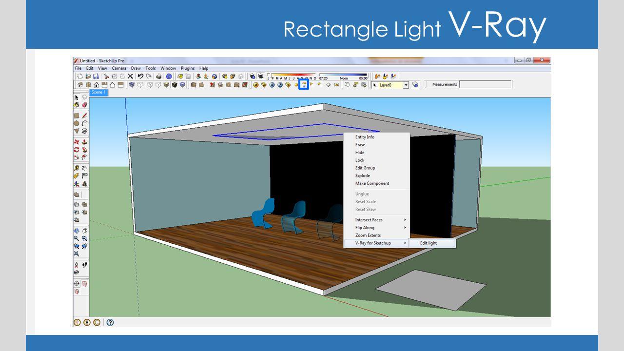 Rectangle Light V-Ray