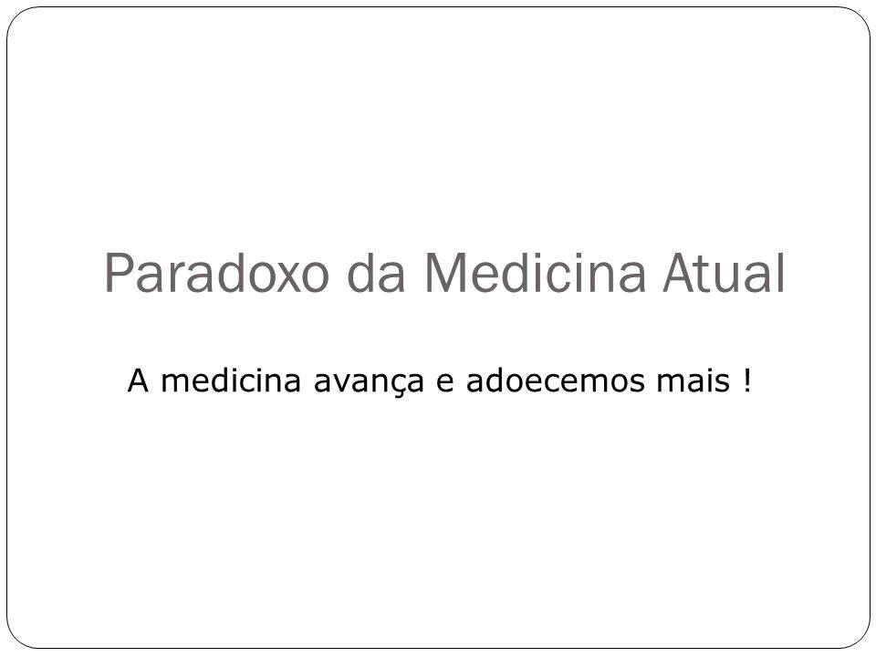 Paradoxo da Medicina Atual