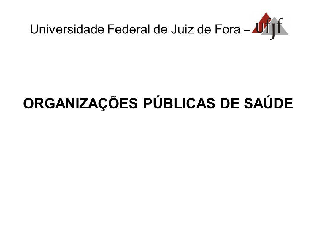 ORGANIZAÇÕES PÚBLICAS DE SAÚDE
