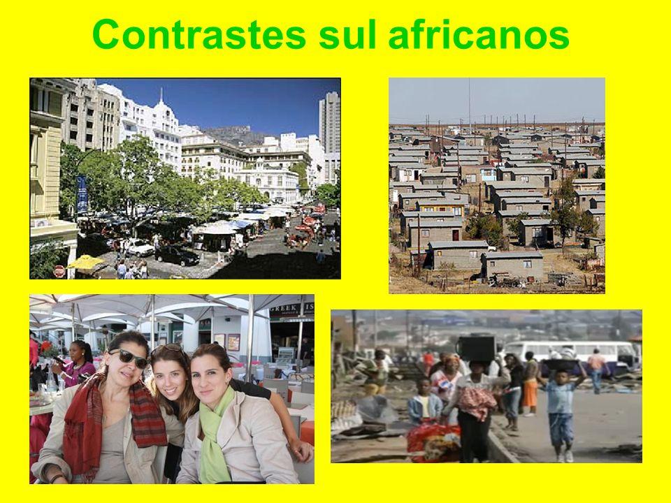 Contrastes sul africanos