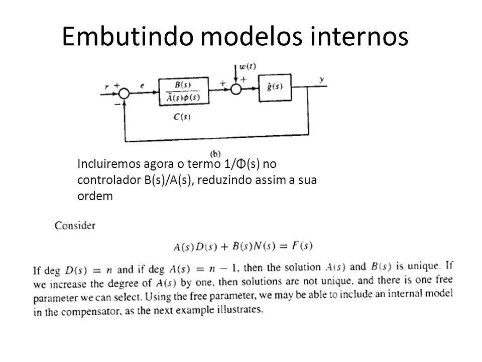 Embutindo modelos internos