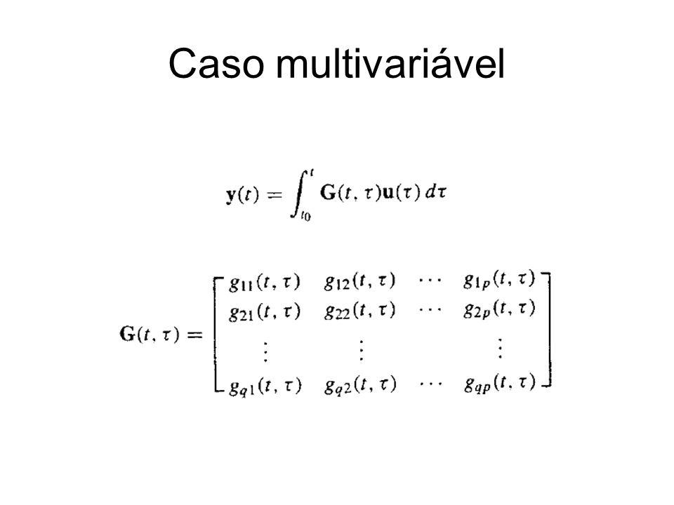 Caso multivariável