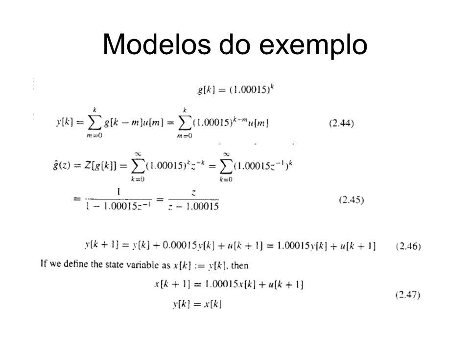 Modelos do exemplo