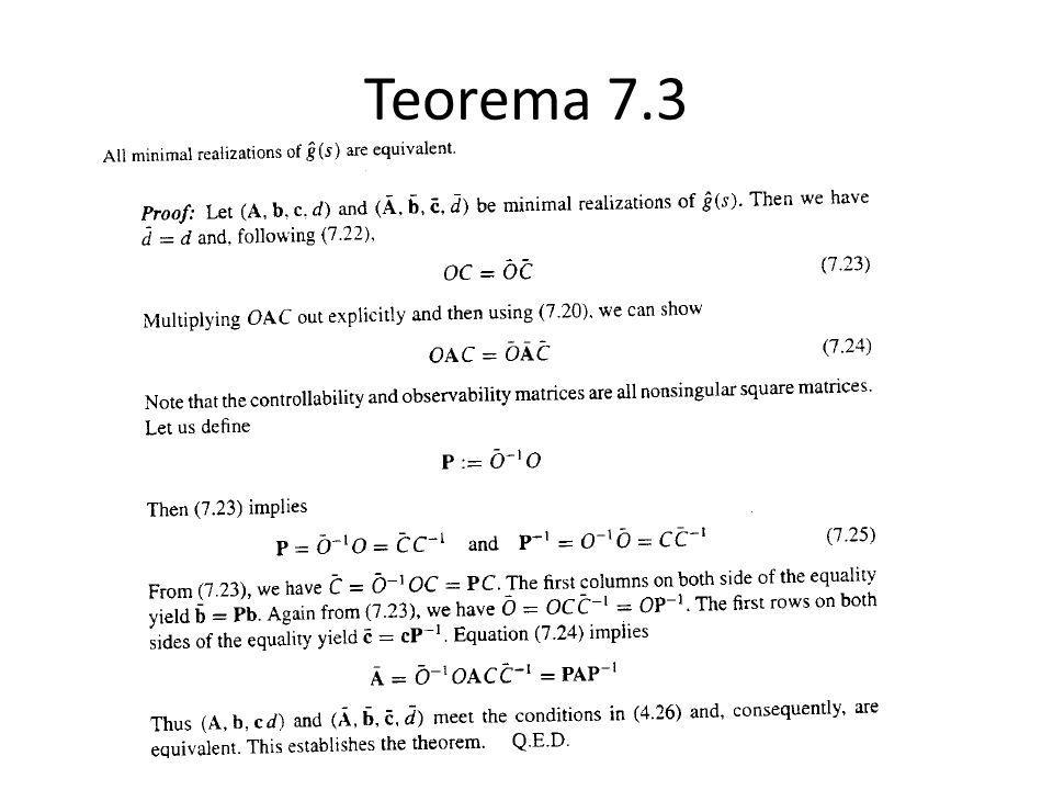Teorema 7.3