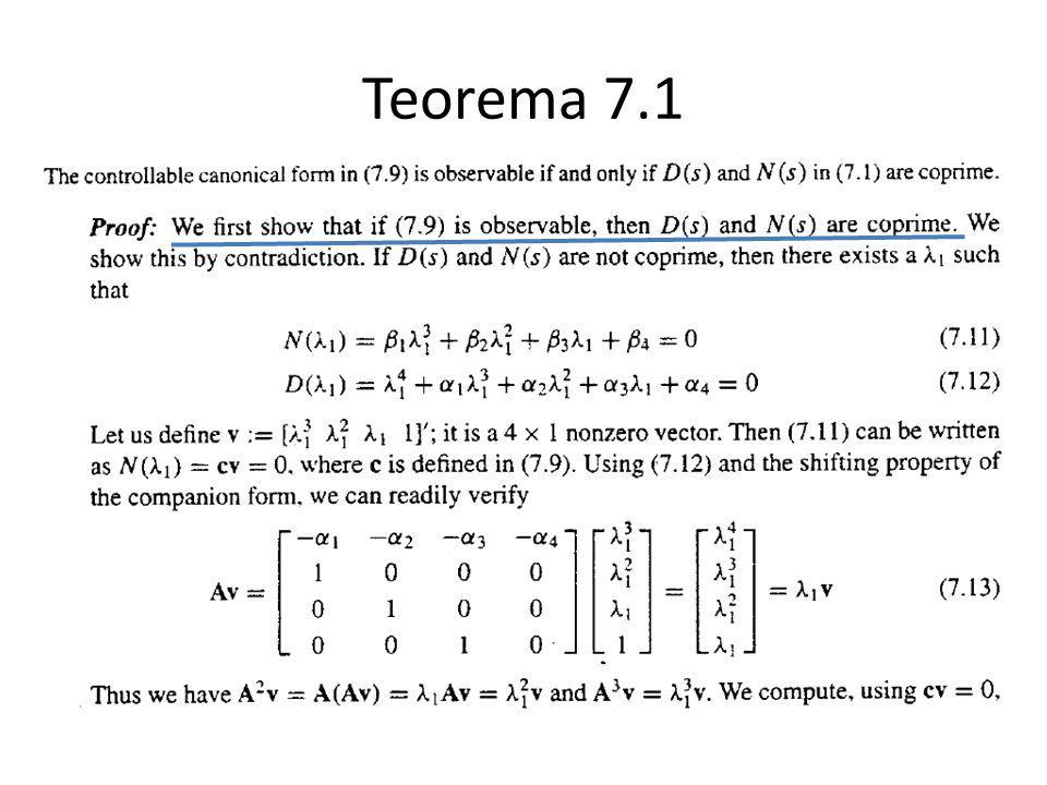 Teorema 7.1