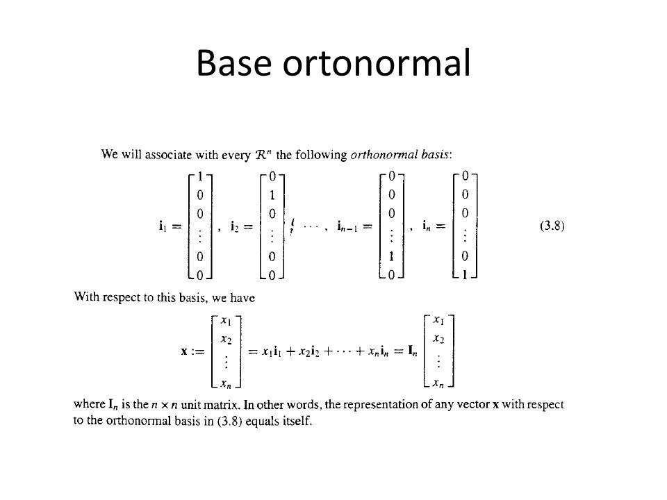Base ortonormal