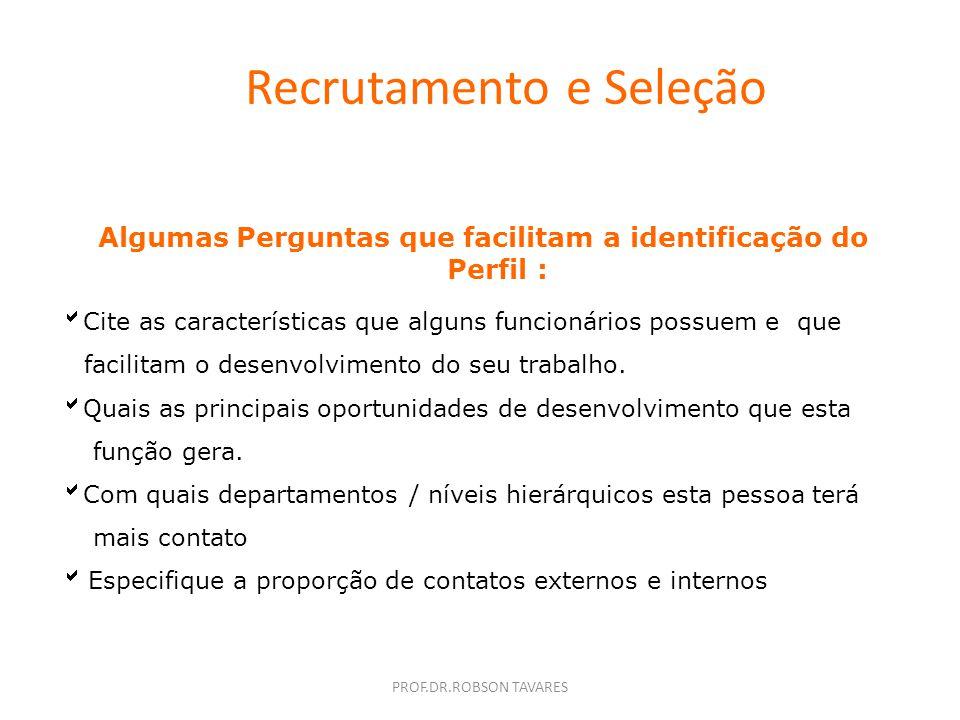 Recrutamento e Seleção