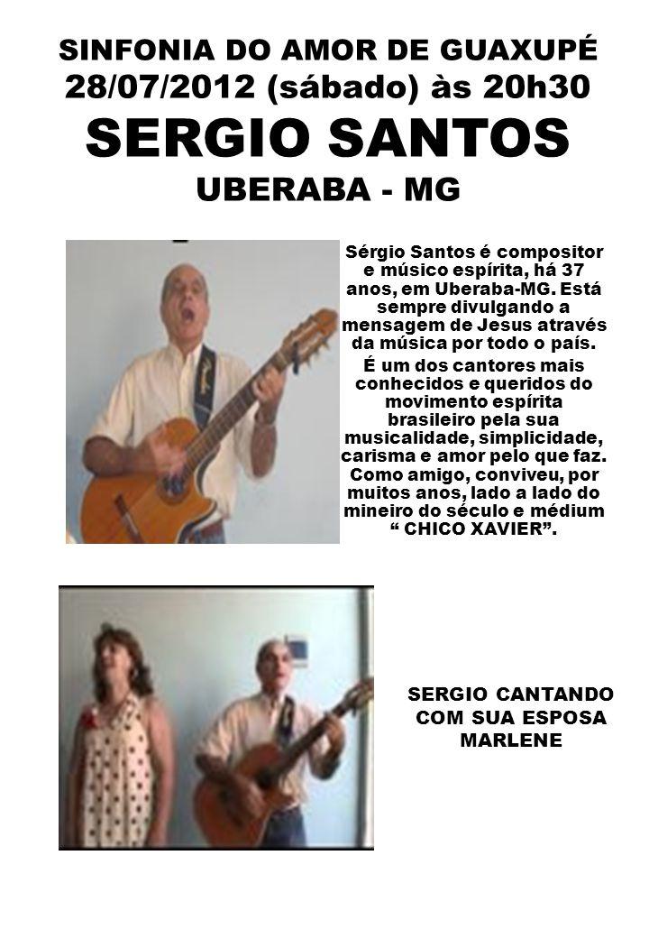 SERGIO CANTANDO COM SUA ESPOSA MARLENE