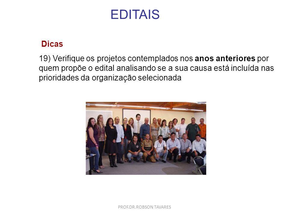 EDITAIS Dicas.