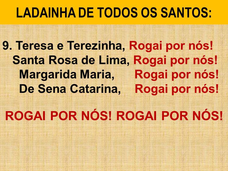LADAINHA DE TODOS OS SANTOS: